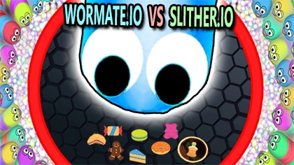 wormate.io vs slither.io