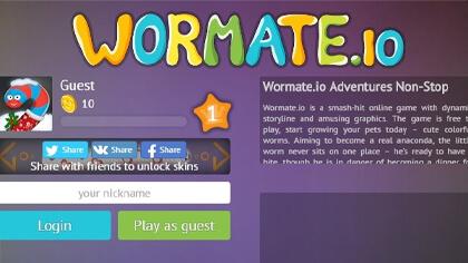 wormate.io extension